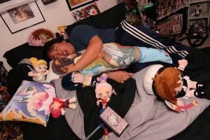 Ryan Tumaliuan's body pillow orgy
